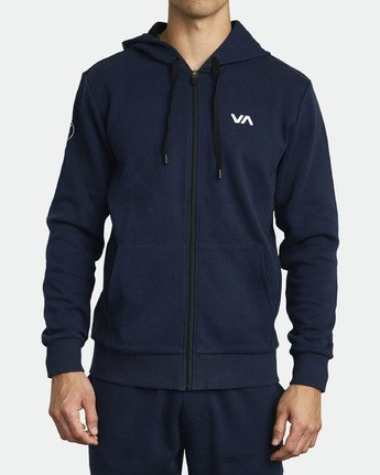 0 SIDELINE HOODIE Blue V603VRSH RVCA