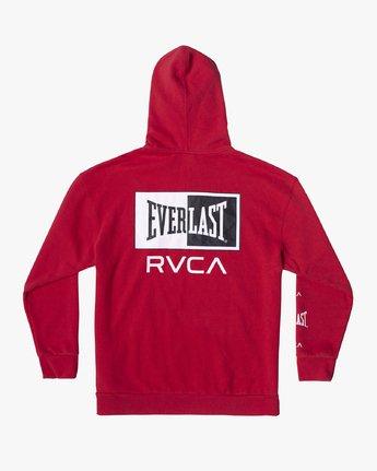 1 EVERLAST SPORT HOODIE Red V6041REH RVCA