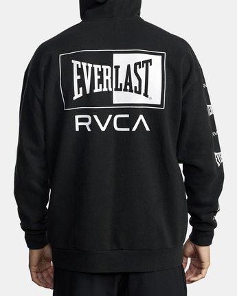 5 EVERLAST SPORT HOODIE Black V6041REH RVCA