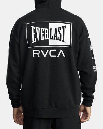 1 EVERLAST SPORT HOODIE Black V6041REH RVCA