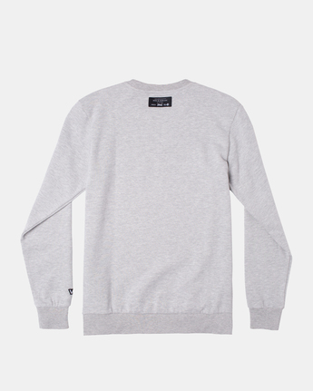 1 EVERLAST PULLOVER SWEATSHIRT Grey V6043REP RVCA