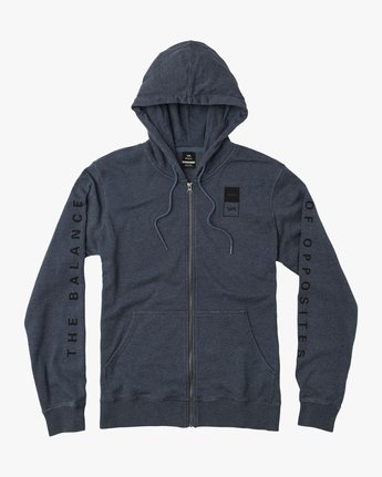 0 VA Guard Fleece Hoodie Blue V605QRGH RVCA