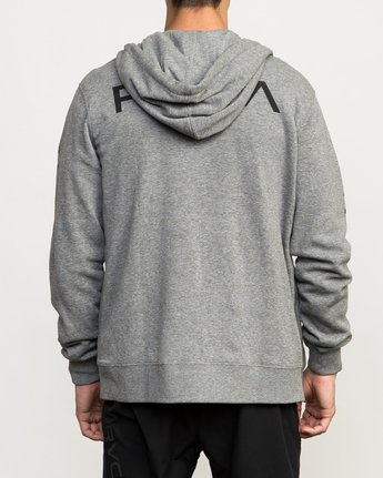 4 VA Guard Fleece Hoodie Grey V605QRGH RVCA