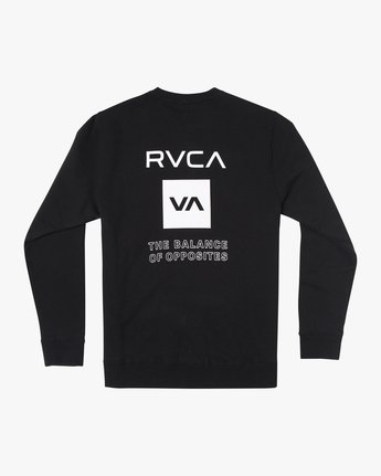 1 SPORT GRAPHIC PULLOVER SWEATSHIRT Black V6063RSP RVCA