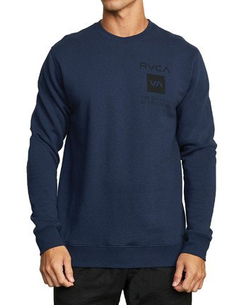 4 SPORT GRAPHIC PULLOVER SWEATSHIRT Blue V6063RSP RVCA