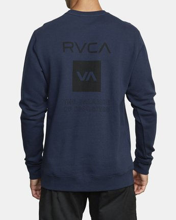 3 SPORT GRAPHIC PULLOVER SWEATSHIRT Blue V6063RSP RVCA