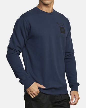 2 SPORT GRAPHIC PULLOVER SWEATSHIRT Blue V6063RSP RVCA