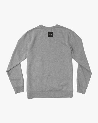 1 Reverted Crew Sweatshirt Grey V622TRRR RVCA