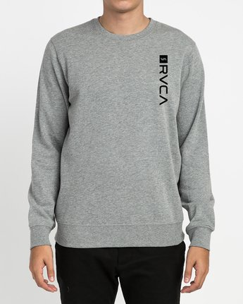 2 Reverted Crew Sweatshirt Grey V622TRRR RVCA