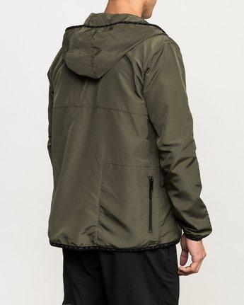 4 Axe Packable Jacket Green V701QRAX RVCA
