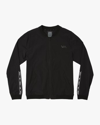 0 VA Resin Bomber Jacket Black V701SRRB RVCA
