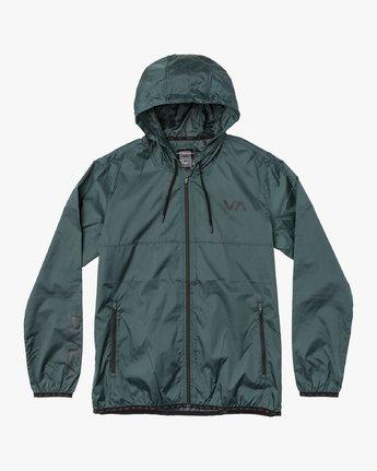 0 Hexstop IV Jacket Green V701TRHP RVCA