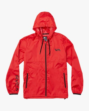 0 Hexstop IV Jacket Red V701TRHP RVCA