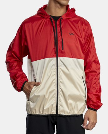 1 HEXSTOP IV JACKET Red V701TRHP RVCA
