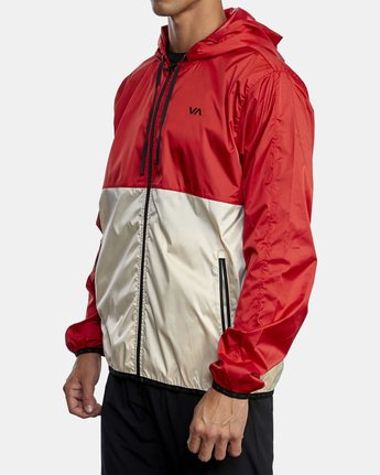 3 HEXSTOP IV JACKET Red V701TRHP RVCA