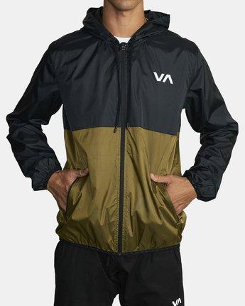 1 HEXSTOP IV JACKET Green V701TRHP RVCA