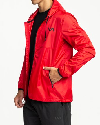2 Hexstop IV Jacket Red V701TRHP RVCA
