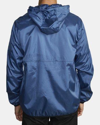 4 Hexstop IV Jacket Blue V701TRHP RVCA
