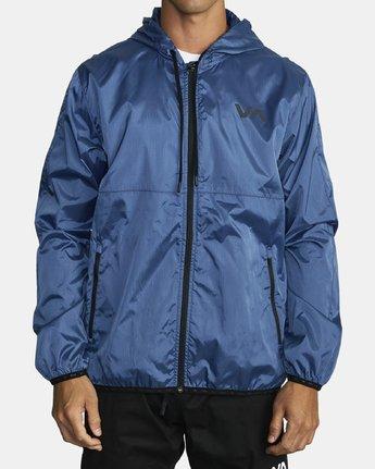 2 Hexstop IV Jacket Blue V701TRHP RVCA