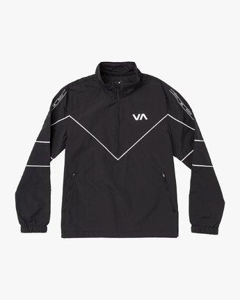 0 Transporter Anorak Jacket Black V701VRTR RVCA