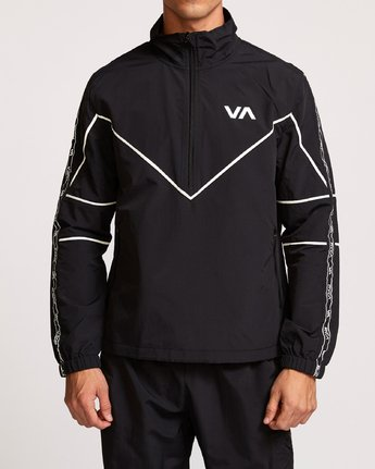 1 Transporter Anorak Jacket Black V701VRTR RVCA