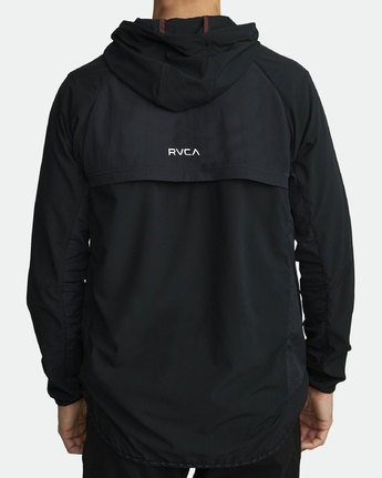 4 YOGGER TRACK JACKET (Previous Season) Black V7021RYJ RVCA