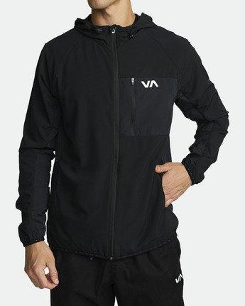2 YOGGER JACKET Black V7021RYJ RVCA