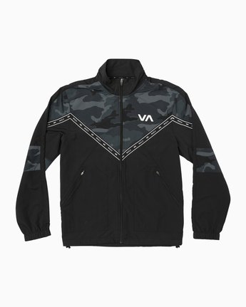0 Control Track Jacket Brown V703TRCO RVCA