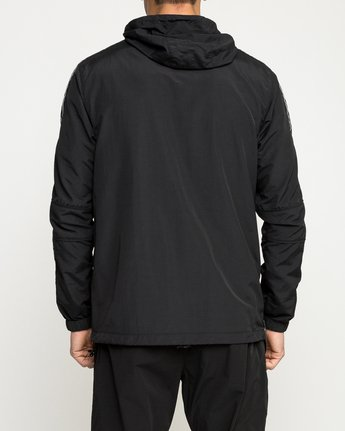 4 Adapter Anorak Jacket Black V704TRAA RVCA