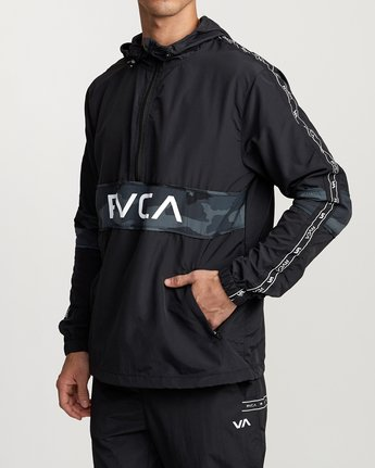 2 Adapter Anarok Jacket Brown V704TRAA RVCA