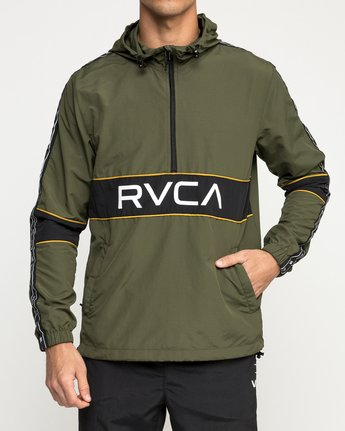 1 Adapter Anarok Jacket Green V704TRAA RVCA