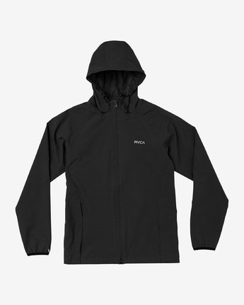 0 VA Windbreaker Jacket Black V705TRWI RVCA