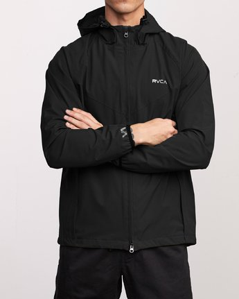 1 VA Windbreaker Jacket Black V705TRWI RVCA