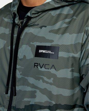 3 DPM HEXSTOP V JACKET Grey V7073RHS RVCA