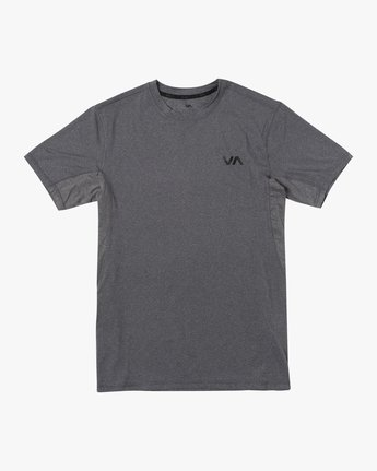 0 SPORT VENT SHORT SLEEVE TEE Brown V9021RSV RVCA