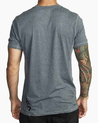 4 SPORT VENT T-SHIRT Brown V9021RSV RVCA