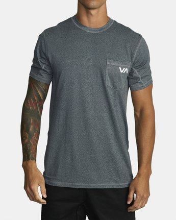 0 SPORT VENT T-SHIRT Brown V9021RSV RVCA