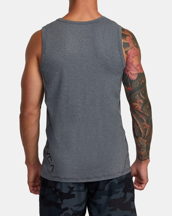 9 SPORT VENT TANK TOP Brown V9031RST RVCA