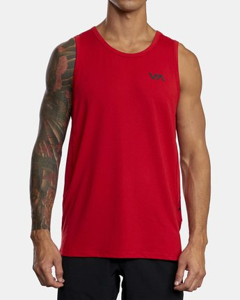 2 SPORT VENT TANK TOP Red V9031RST RVCA