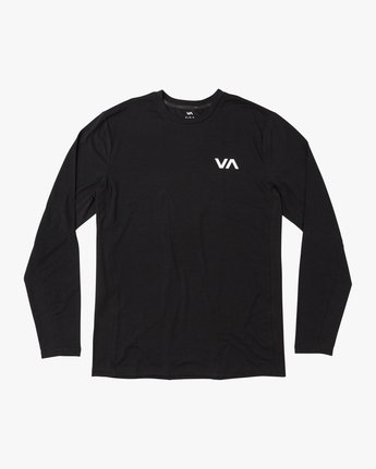 0 VA Vent Long Sleeve Top Black V903QRVL RVCA