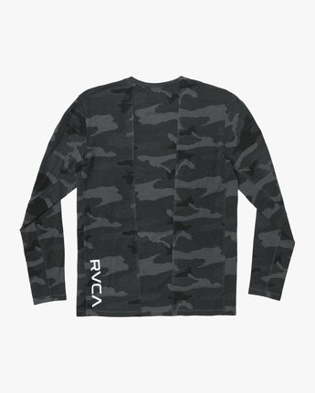 1 VA Vent Long Sleeve Top Camo V903QRVL RVCA