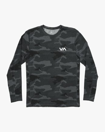 0 VA Vent Long Sleeve Top Camo V903QRVL RVCA