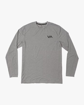 0 VA Vent Long Sleeve Top Grey V903QRVL RVCA