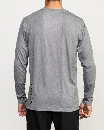 5 VA Vent Long Sleeve Top Grey V903QRVL RVCA