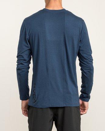 5 VA Vent Long Sleeve Top Blue V903QRVL RVCA