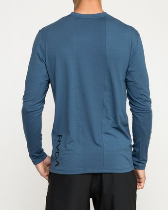 5 VA Vent Long Sleeve Top Blue V903QRVL RVCA
