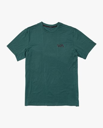 0 VA Vent Short Sleeve Top Green V904QRVS RVCA