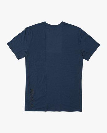 1 VA Vent Short Sleeve Top Blue V904QRVS RVCA