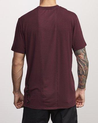 2 VA Vent Short Sleeve Top Pink V904QRVS RVCA