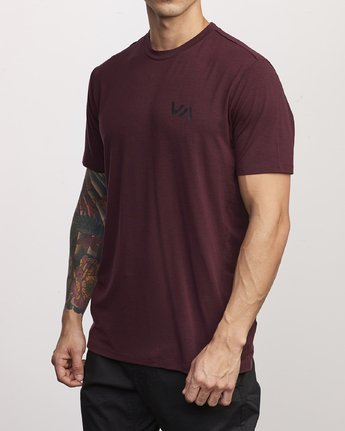 1 VA Vent Short Sleeve Top Pink V904QRVS RVCA